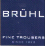 Wool Blend Corduroy Trousers by Bruhl - Style Robert - 1657